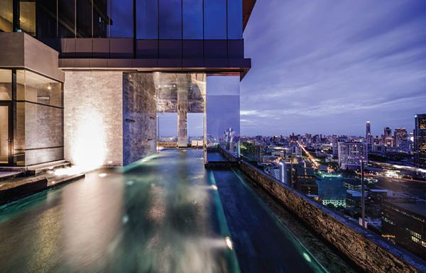 M-Silom-Bangkok-condo-for-sale-semi-indoor-lap-pool
